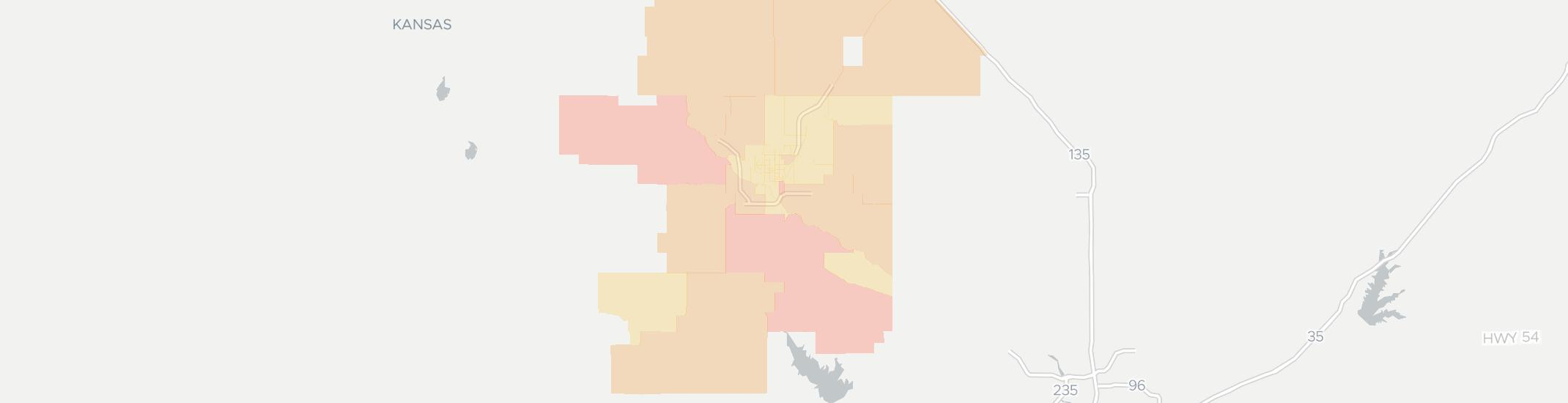 Hutchinson Ks Zip Code Map.Internet Providers In Hutchinson Ks Compare 16 Providers
