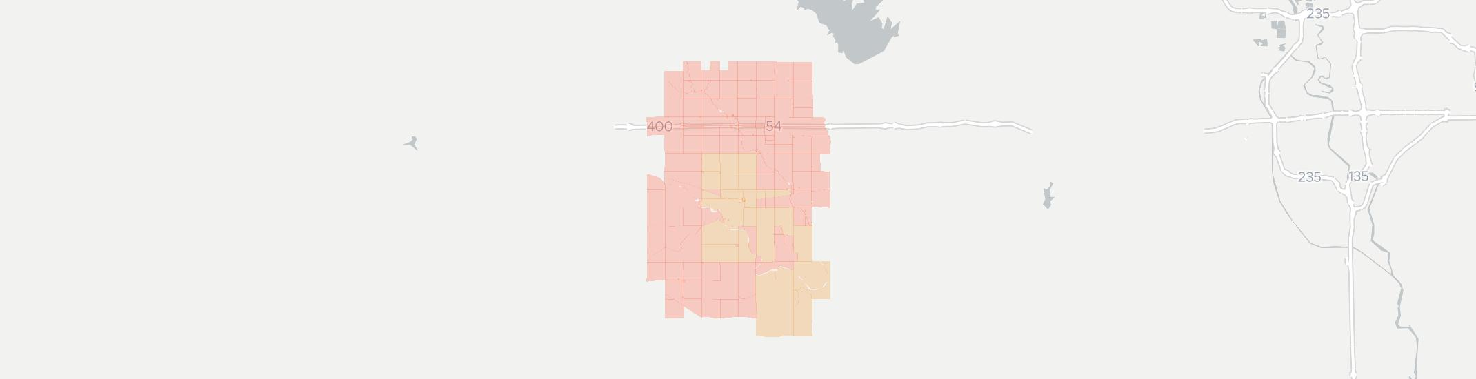 Murdock Internet Competition Map. Click for interactive map.