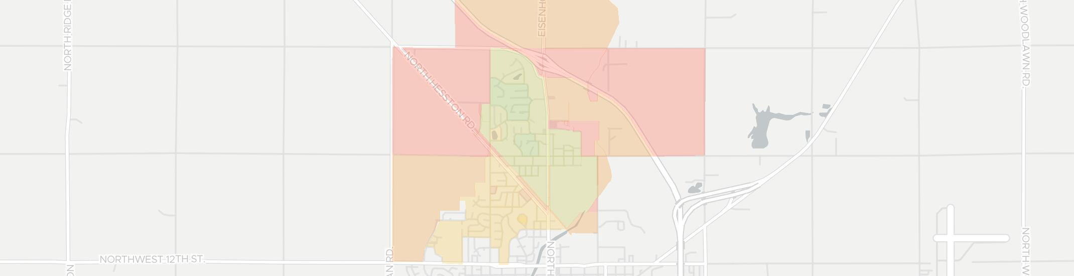 North Newton Internet Competition Map. Click for interactive map.
