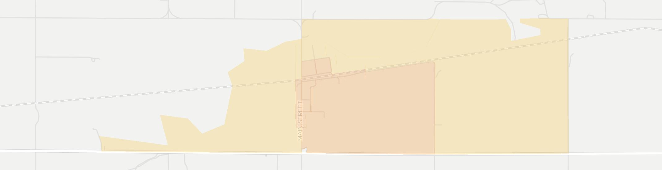 Timken Internet Competition Map. Click for interactive map.