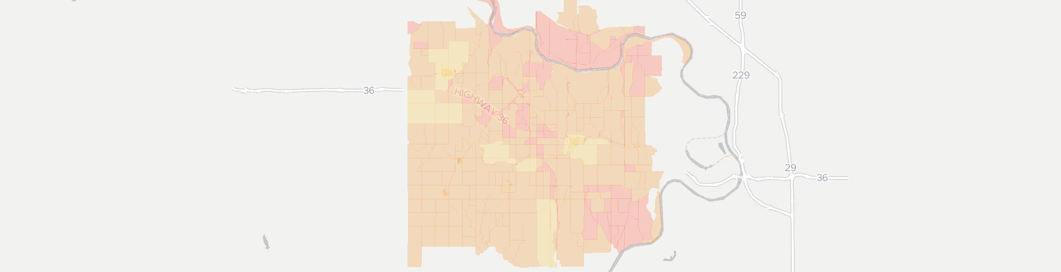 Troy Internet Competition Map. Click for interactive map.
