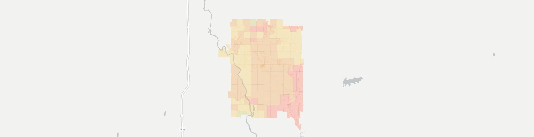 Udall Internet Competition Map. Click for interactive map.