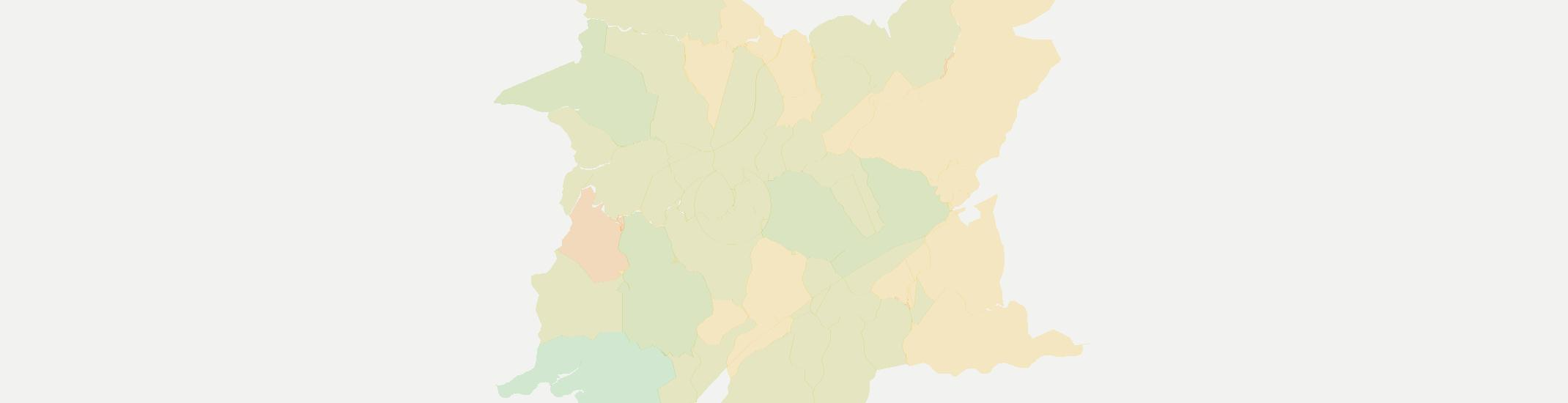 Hindman Internet Competition Map. Click for interactive map.