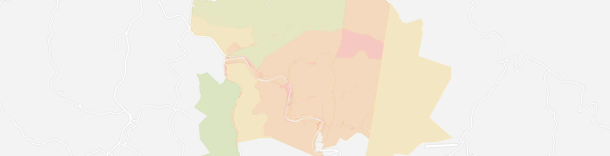 Ivel Internet Competition Map. Click for interactive map.