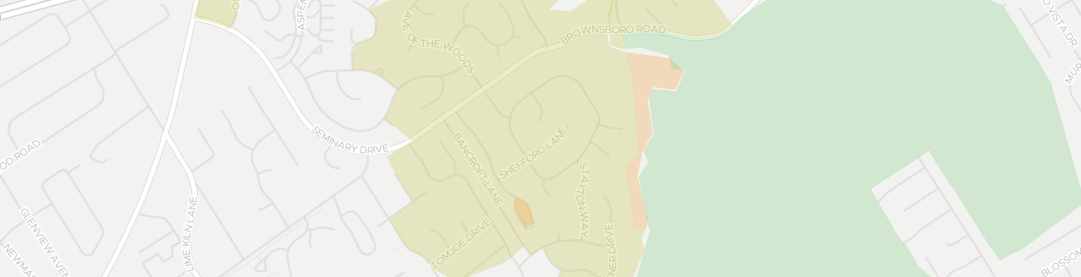Old Brownsboro Place Internet Competition Map. Click for interactive map.