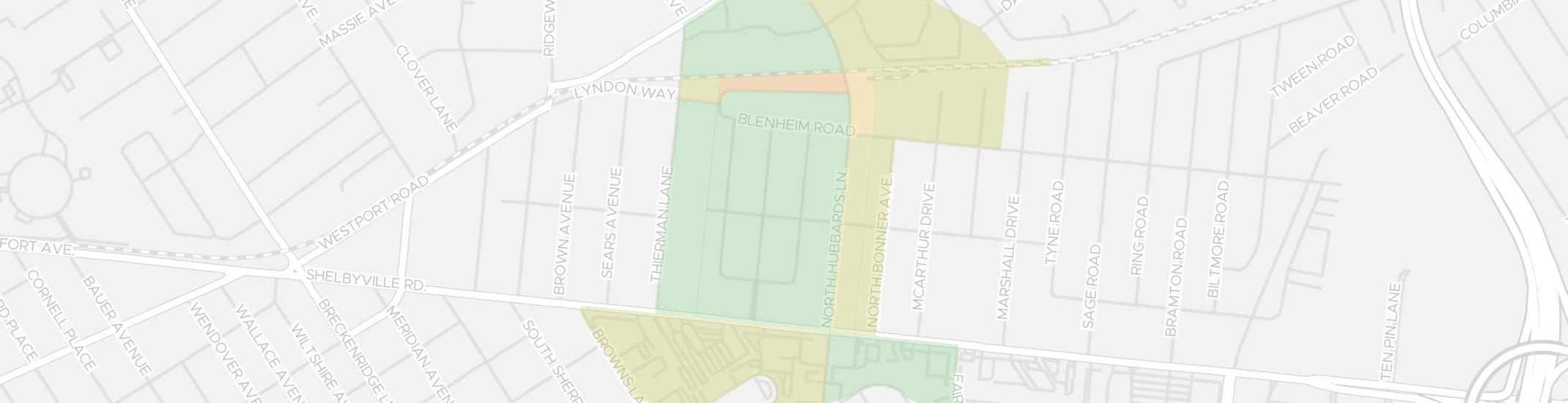 Richlawn Internet Competition Map. Click for interactive map.
