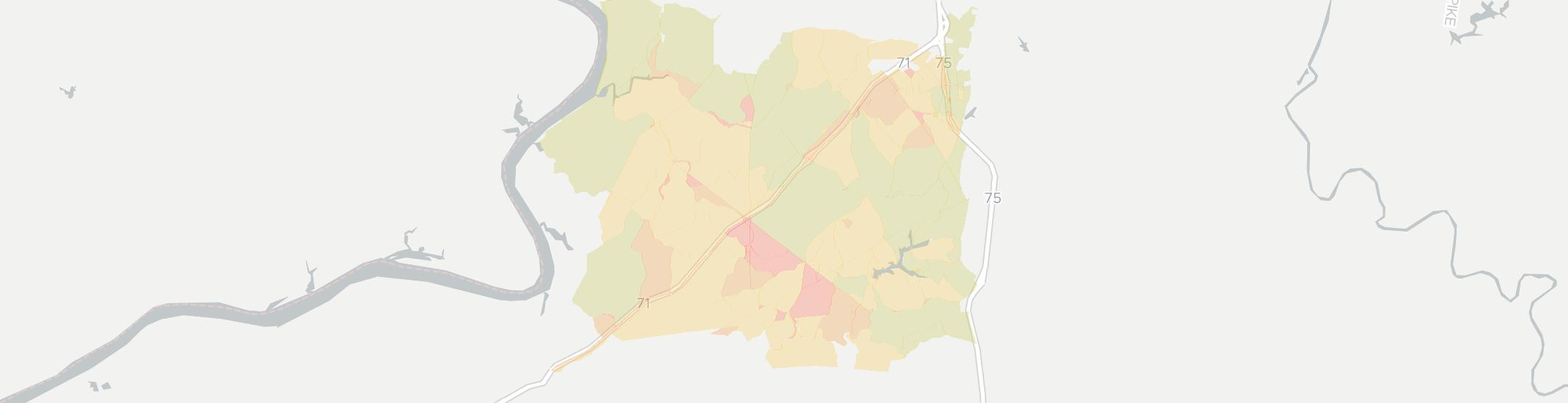 Verona Internet Competition Map. Click for interactive map.
