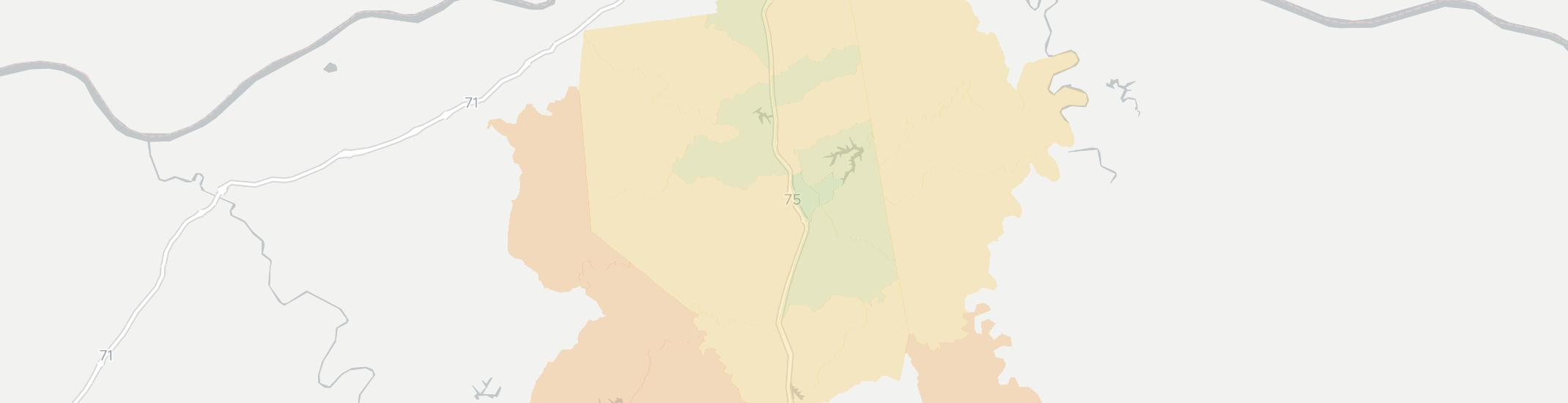 Williamstown Internet Competition Map. Click for interactive map.
