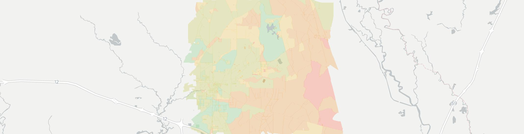 Abita Springs Internet Competition Map. Click for interactive map.