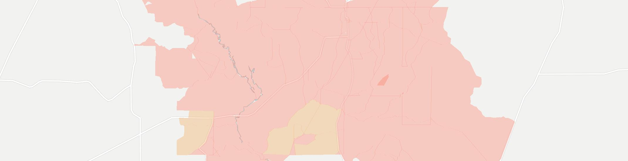 Ashland Internet Competition Map. Click for interactive map.