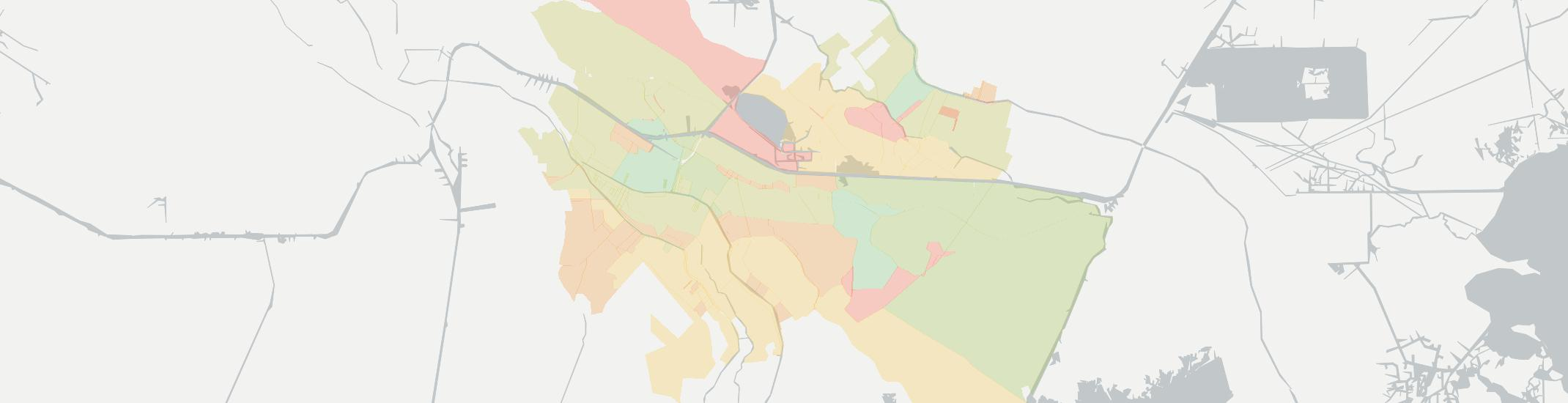 Bourg Internet Competition Map. Click for interactive map.