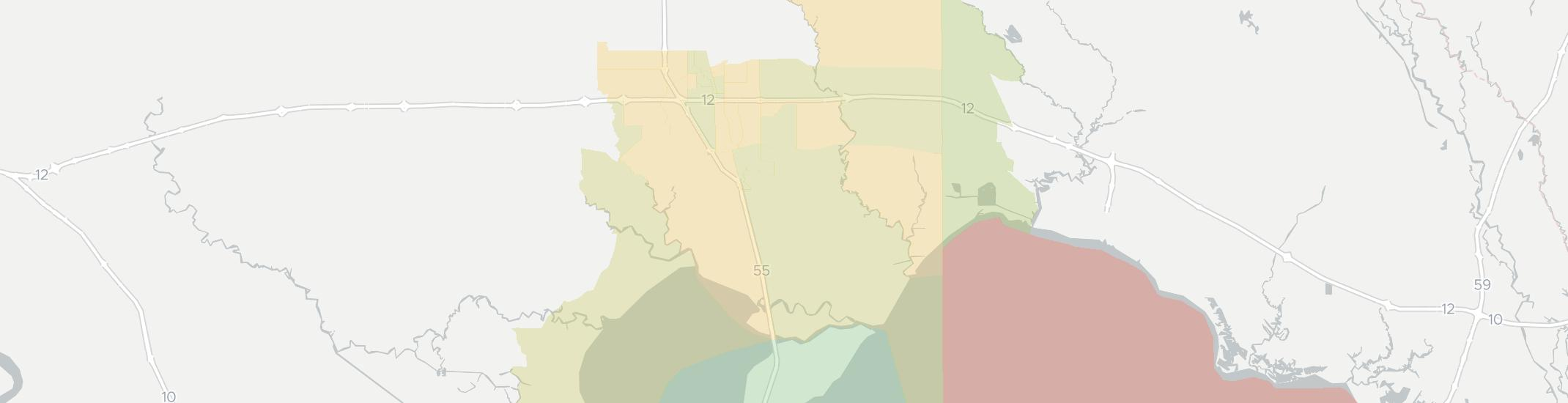 Ponchatoula Internet Competition Map. Click for interactive map.