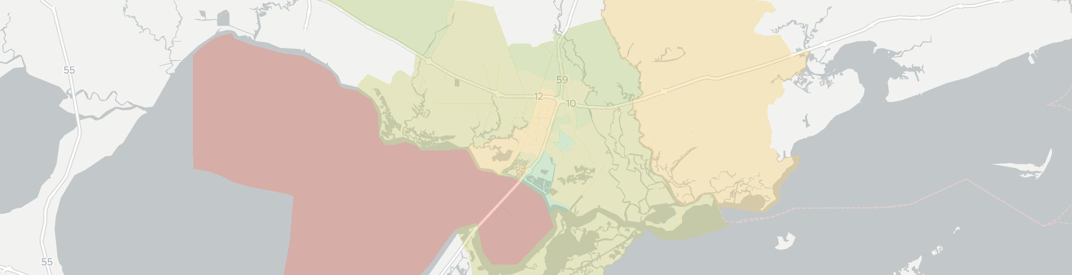 Slidell Internet Competition Map. Click for interactive map.