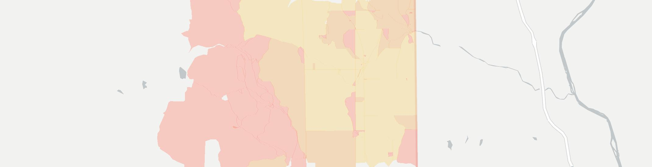 Bridgewater Internet Competition Map. Click for interactive map.