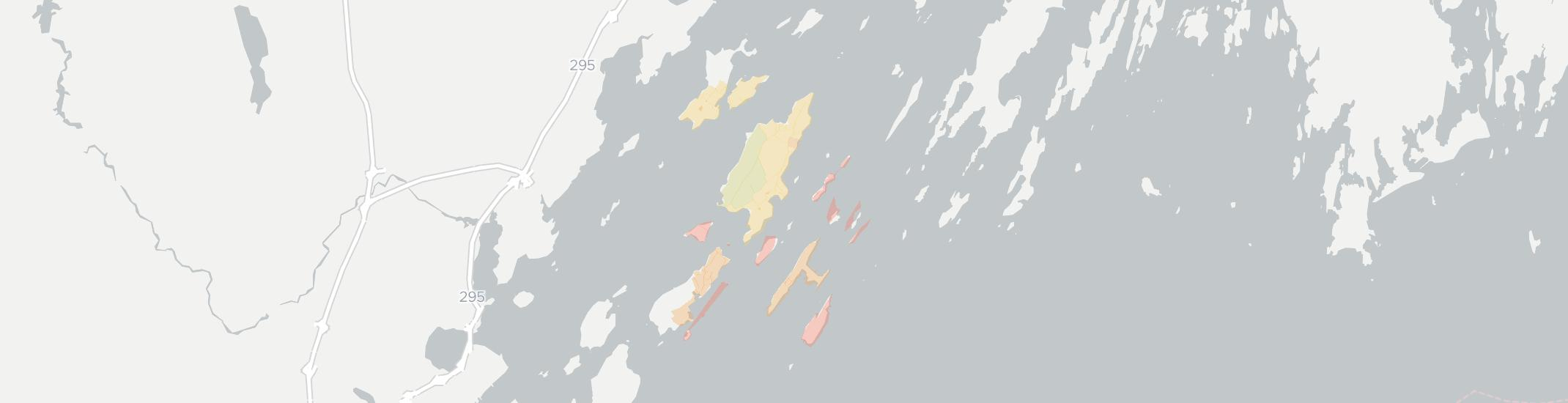 Chebeague Island Internet Competition Map. Click for interactive map.