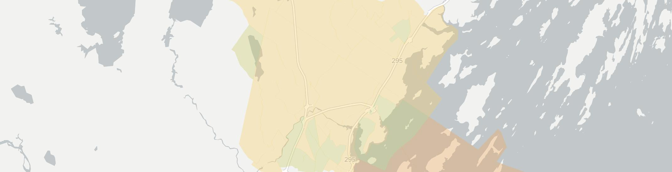 Falmouth Internet Competition Map. Click for interactive map.