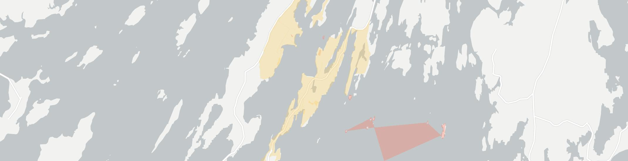 Orrs Island Internet Competition Map. Click for interactive map.
