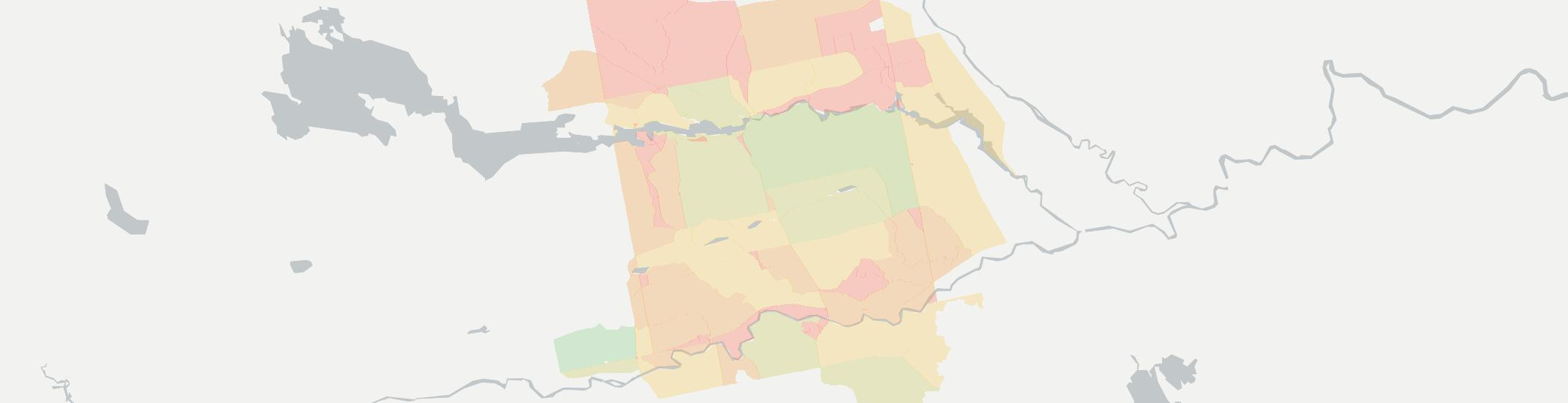 Sebec Internet Competition Map. Click for interactive map.