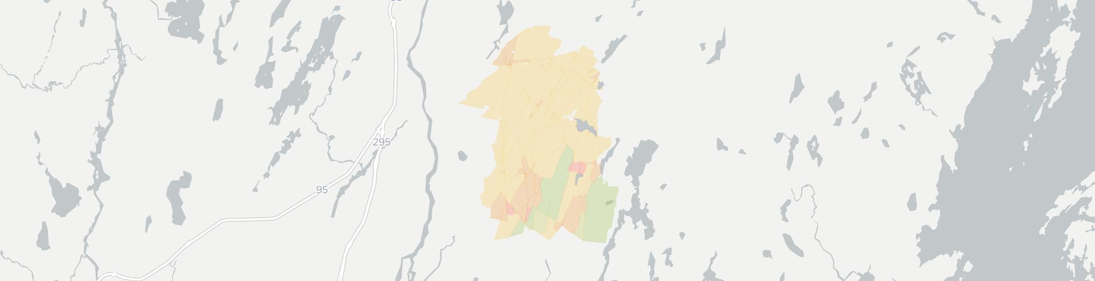 Whitefield Internet Competition Map. Click for interactive map.