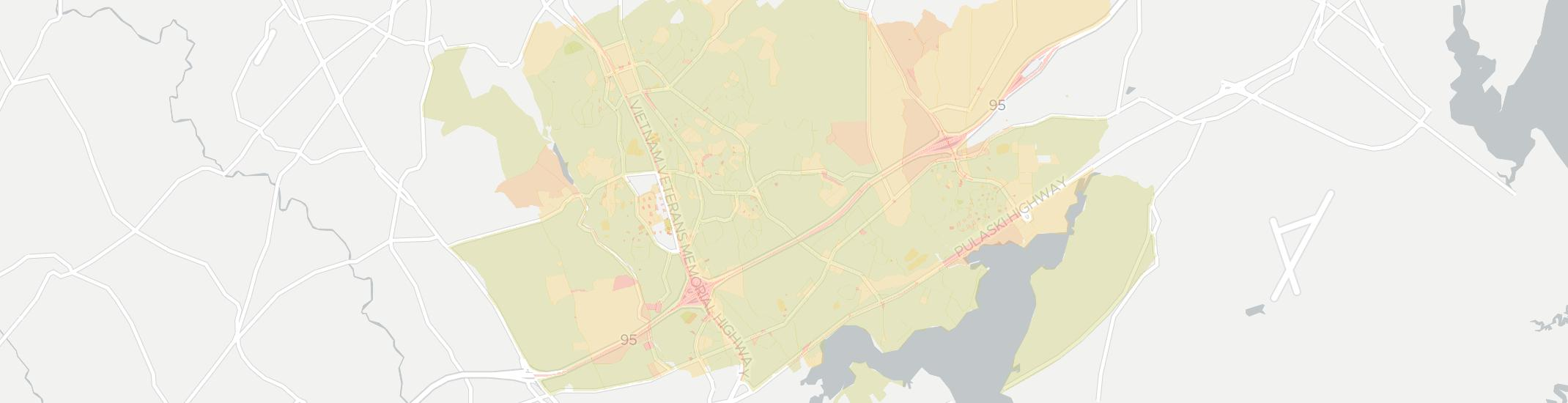 Abingdon Internet Competition Map. Click for interactive map.