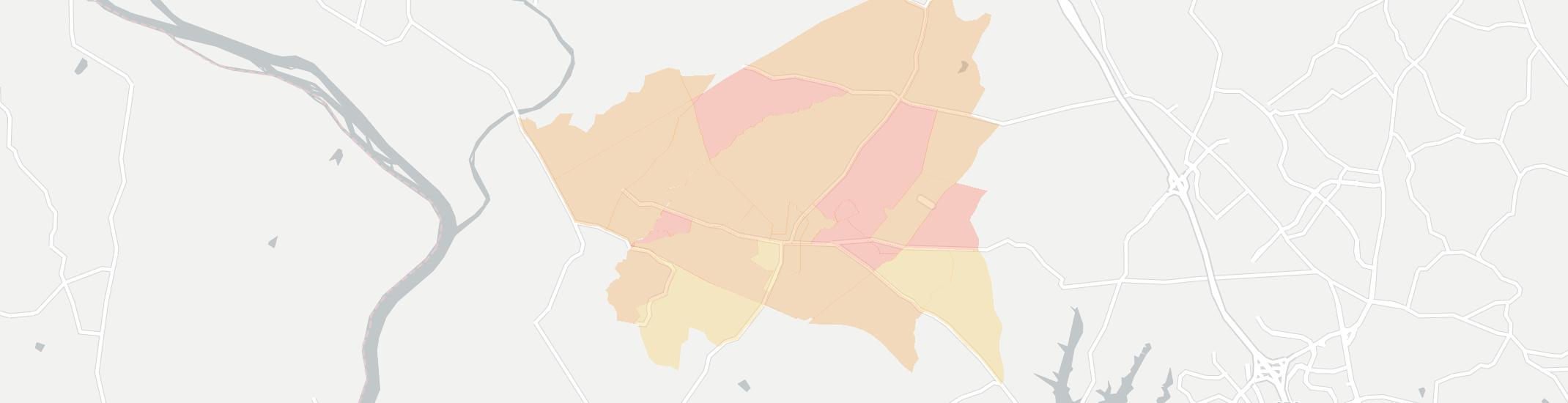 Barnesville Internet Competition Map. Click for interactive map.