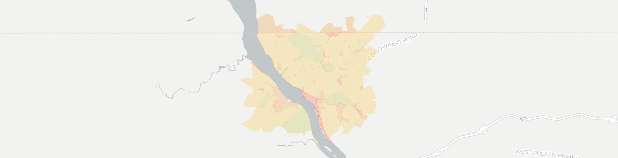 Conowingo Internet Competition Map. Click for interactive map.