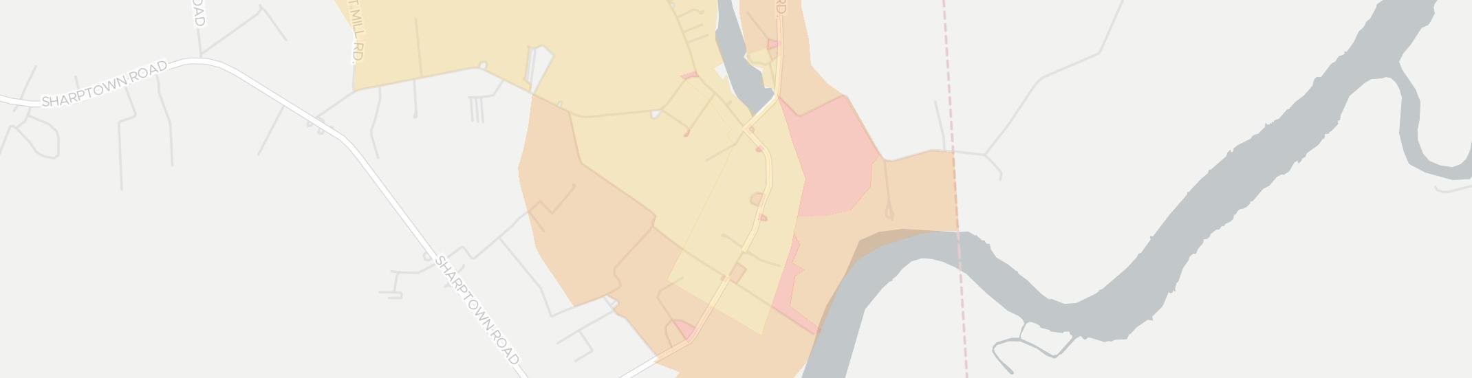Galestown Internet Competition Map. Click for interactive map.