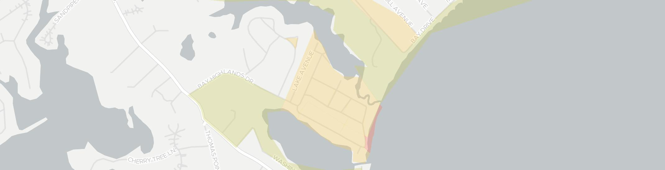 Highland Beach Internet Competition Map. Click for interactive map.