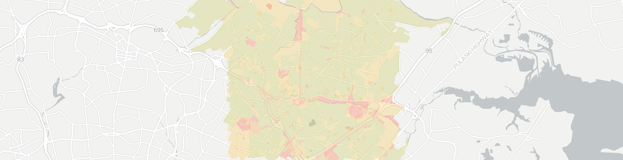 Nottingham Internet Competition Map. Click for interactive map.