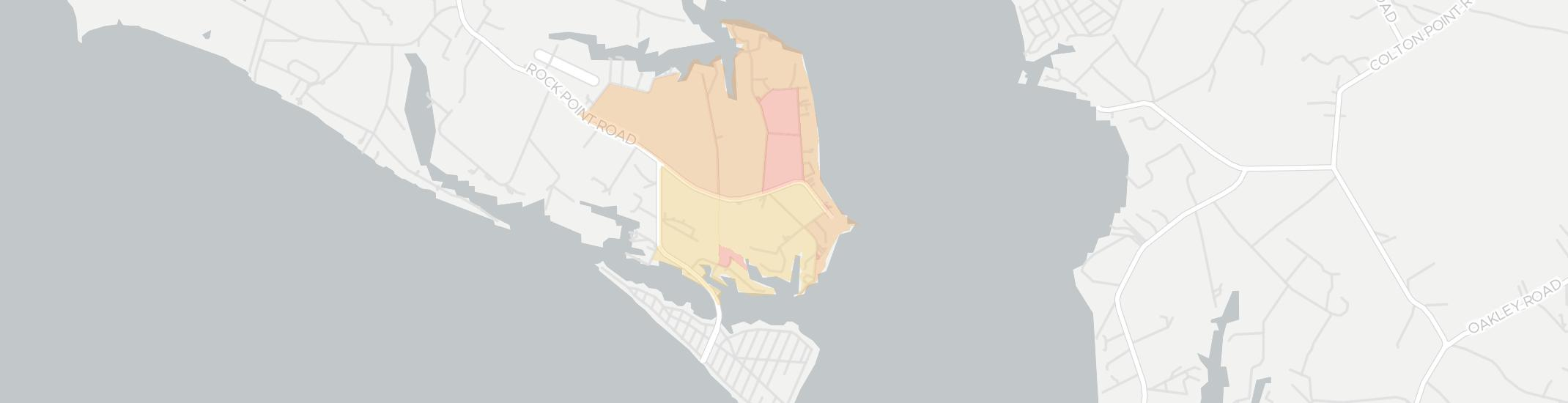 Rock Point Internet Competition Map. Click for interactive map.
