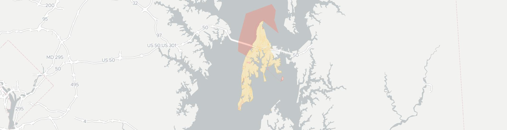 Stevensville Internet Competition Map. Click for interactive map.