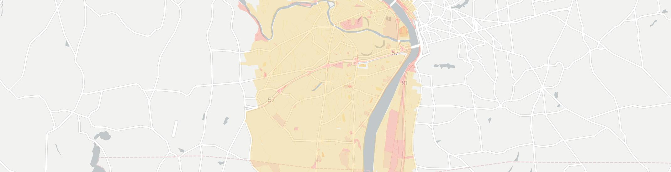 Agawam Internet Competition Map. Click for interactive map.