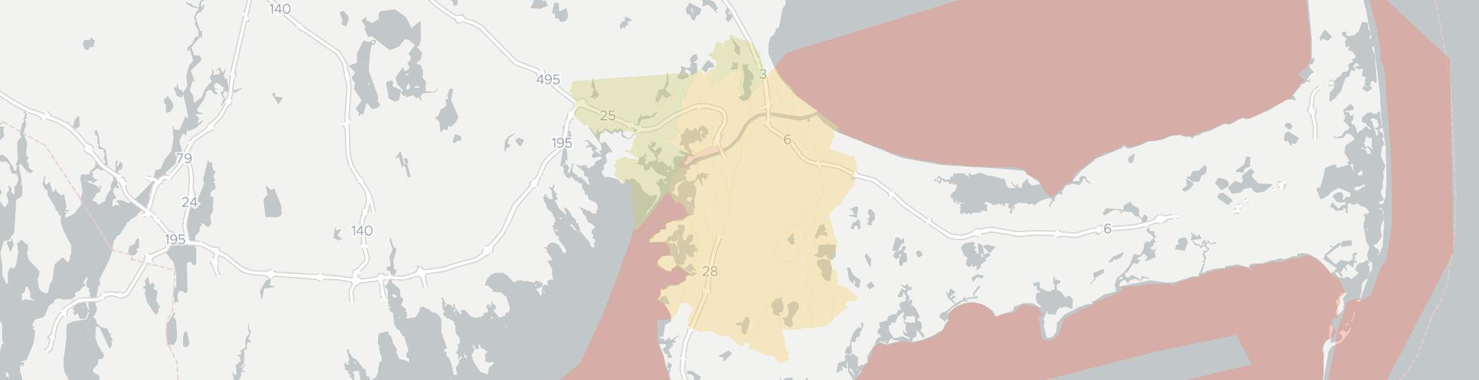 Buzzards Bay Internet Competition Map. Click for interactive map.