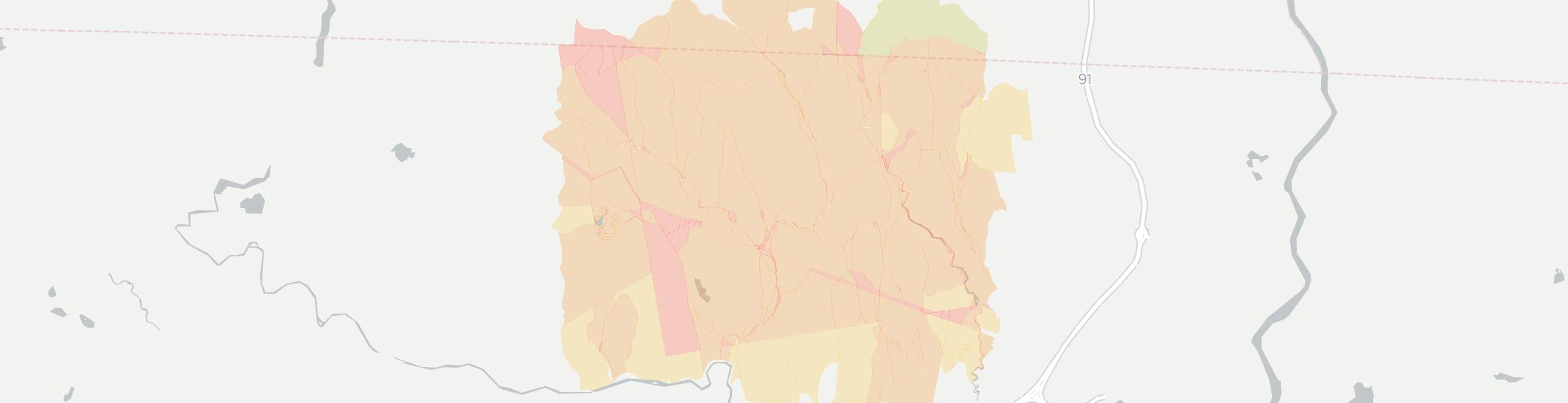 Colrain Internet Competition Map. Click for interactive map.