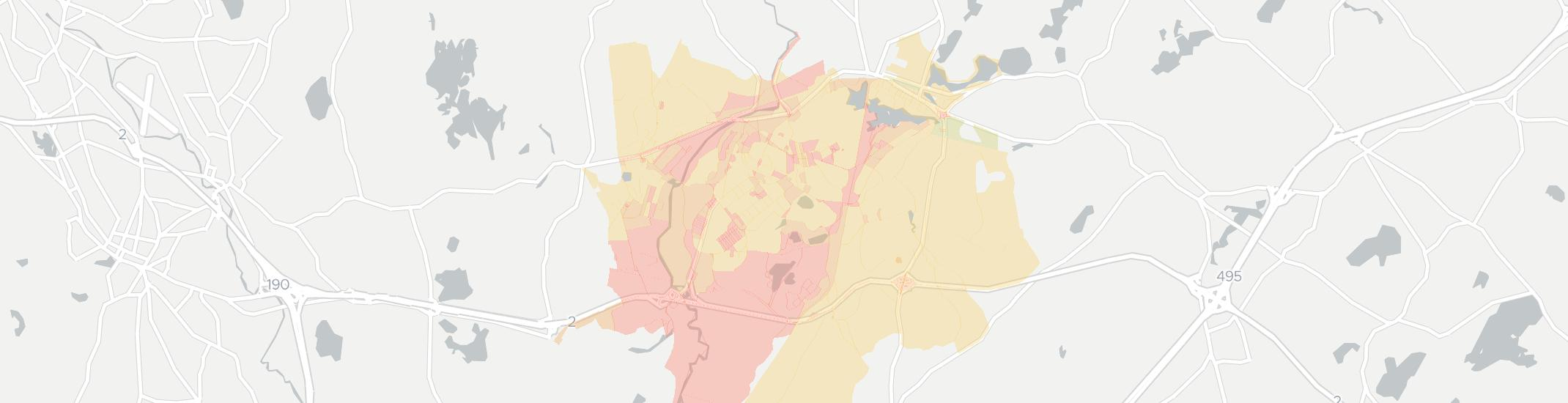 Devens Internet Competition Map. Click for interactive map.