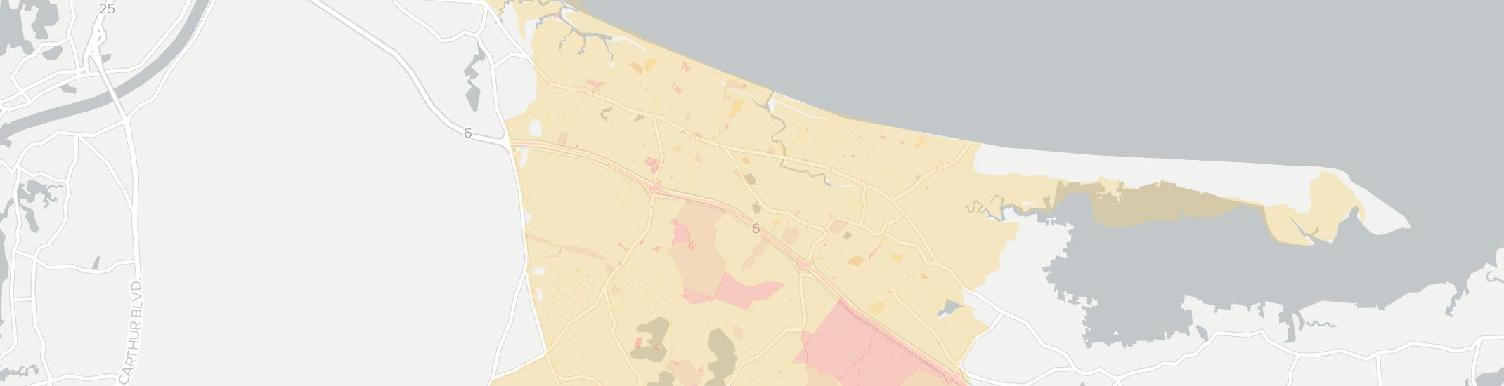 East Sandwich Internet Competition Map. Click for interactive map.