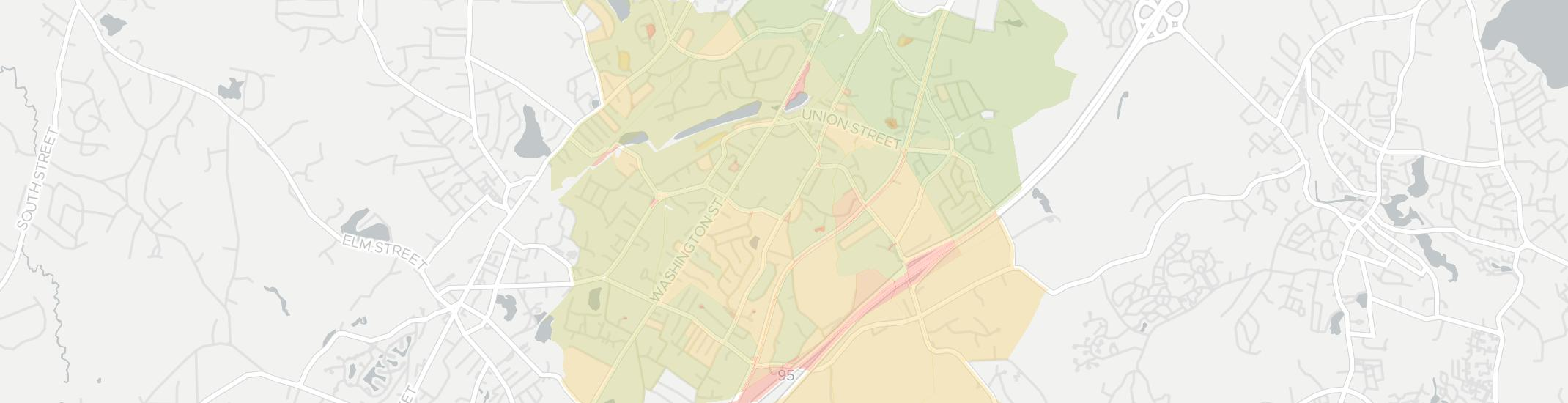 East Walpole Internet Competition Map. Click for interactive map.