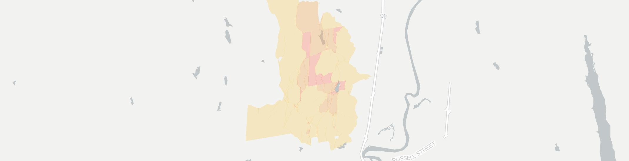 Haydenville Internet Competition Map. Click for interactive map.