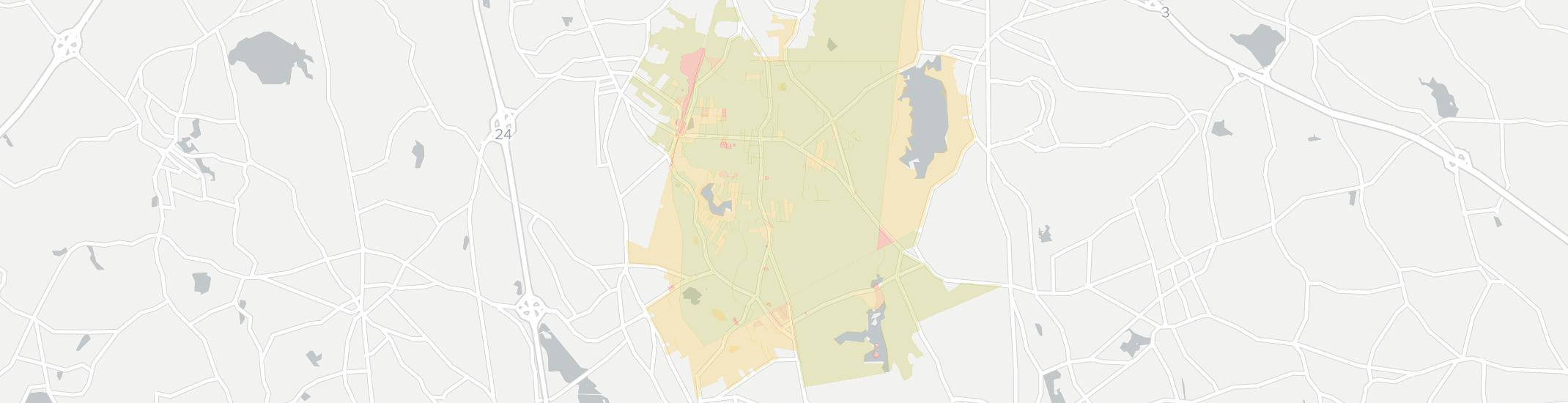 Holbrook Internet Competition Map. Click for interactive map.