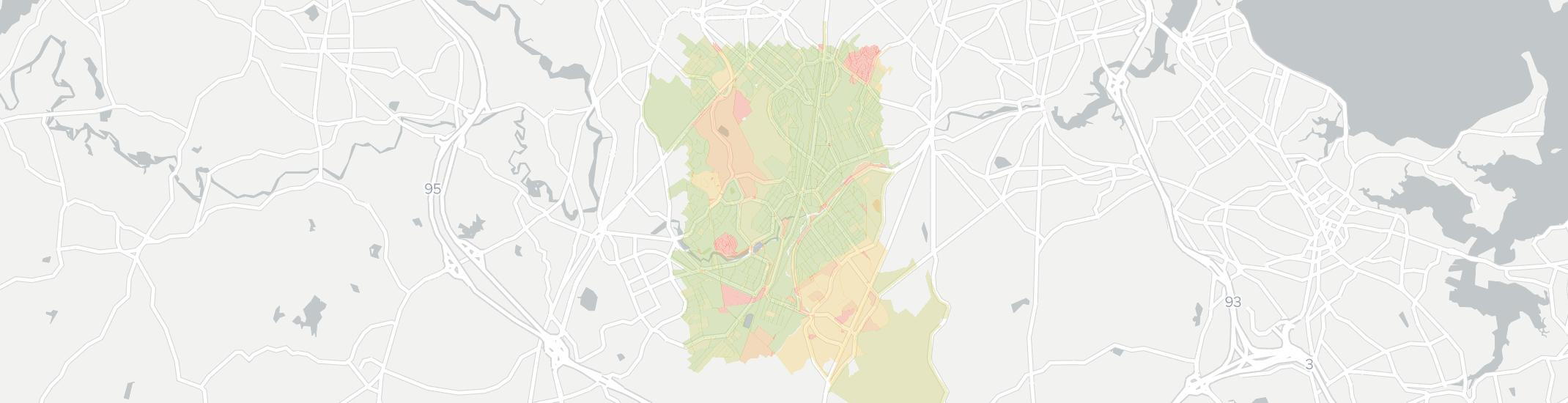 Hyde Park Internet Competition Map. Click for interactive map.