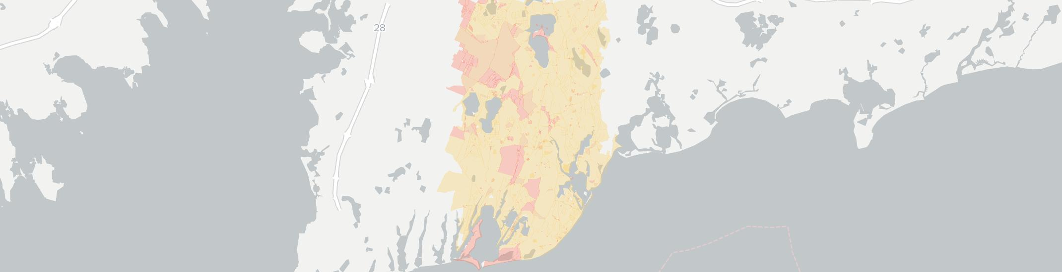 Mashpee Internet Competition Map. Click for interactive map.