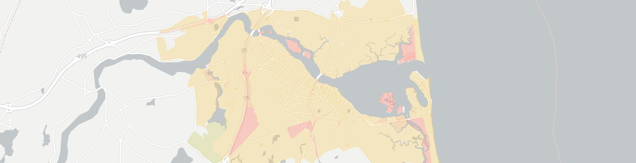 Newburyport Internet Competition Map. Click for interactive map.