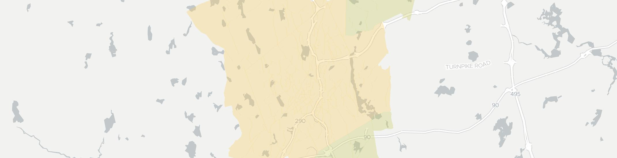 Worcester Internet Competition Map. Click for interactive map.