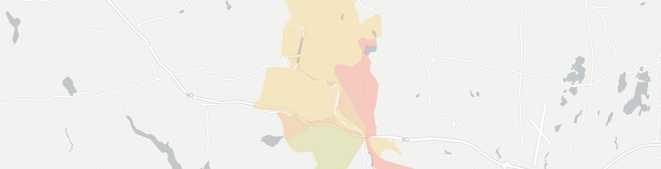 Woronoco Internet Competition Map. Click for interactive map.