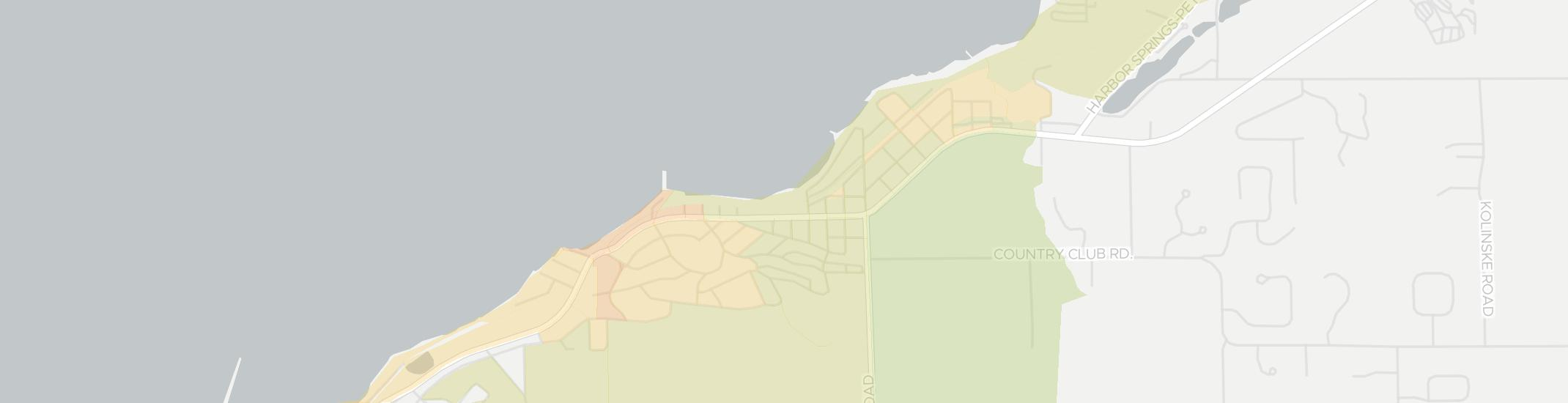 Bay View Internet Competition Map. Click for interactive map.