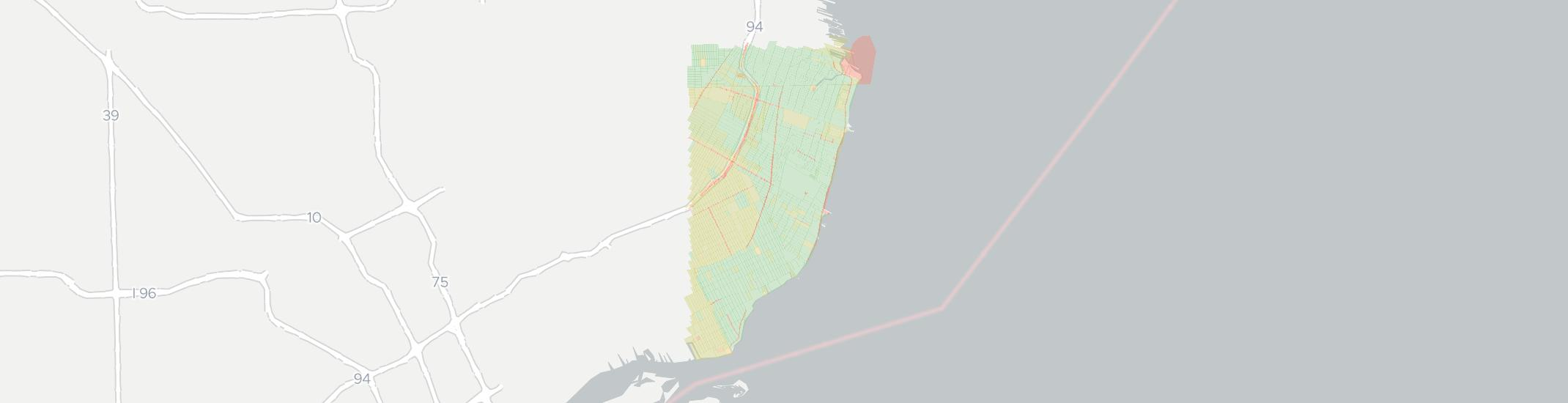 Grosse Point Michigan Map.Internet Providers In Grosse Pointe Compare 17 Providers