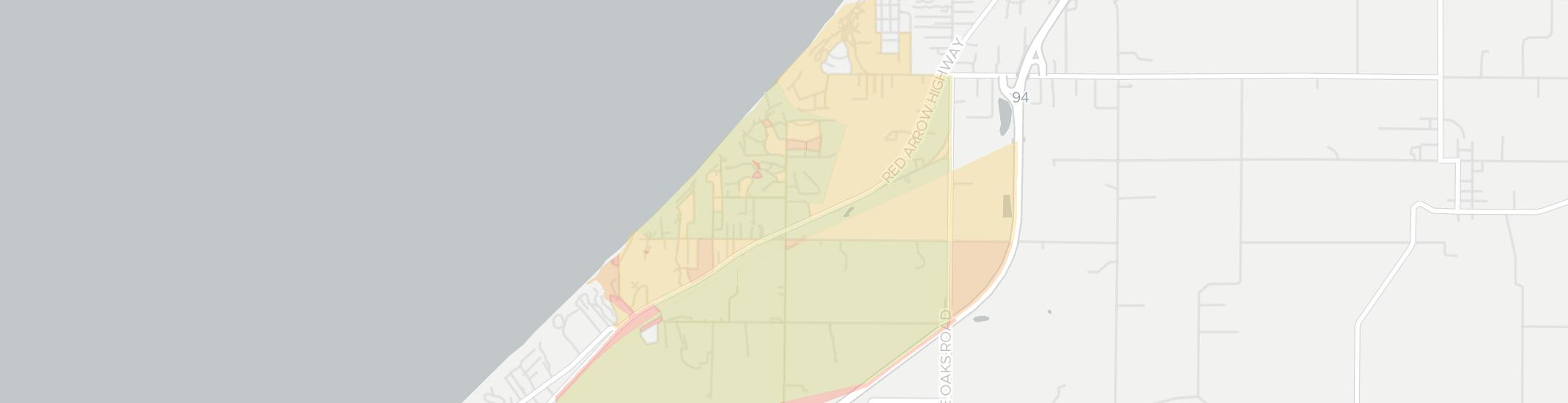 Harbert Internet Competition Map. Click for interactive map.