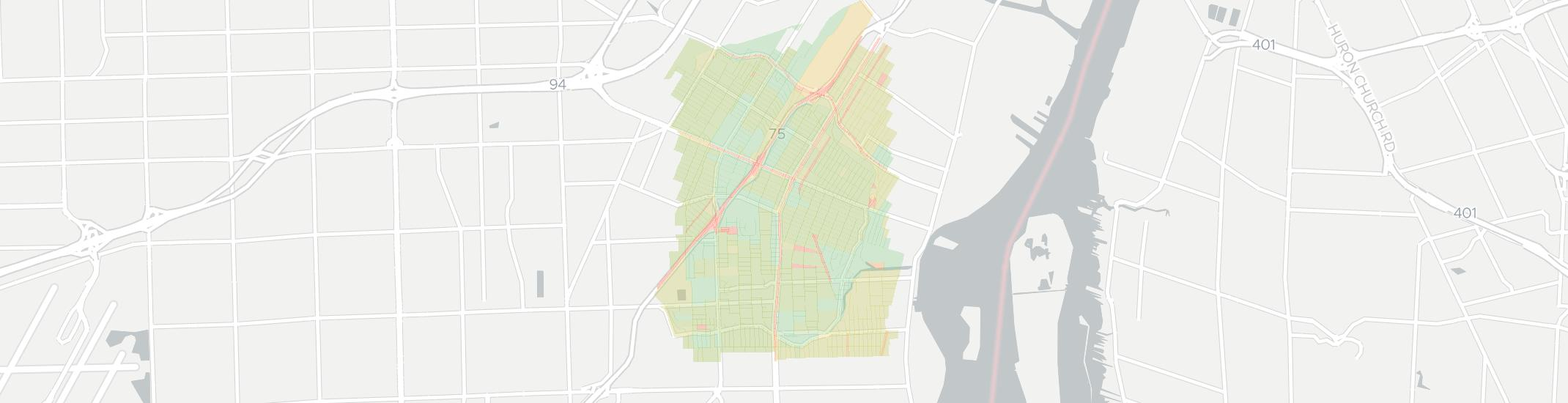 Lincoln Park Internet Competition Map. Click for interactive map.