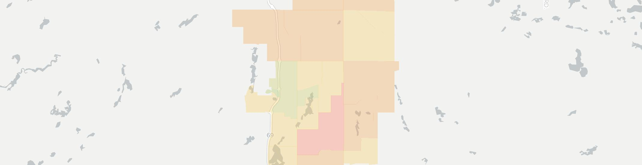 Quincy Internet Competition Map. Click for interactive map.