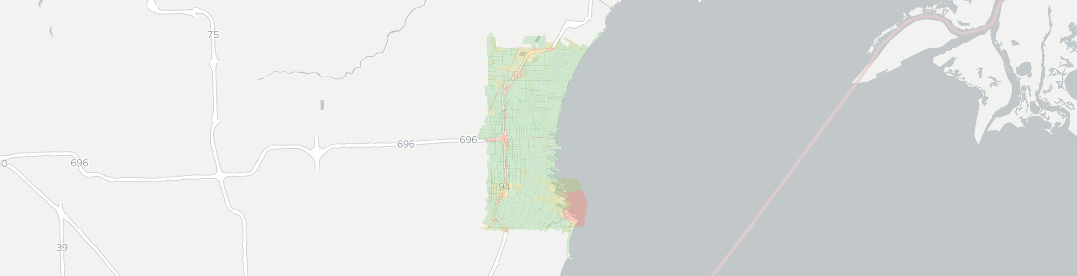 Saint Clair Shores Internet Competition Map. Click for interactive map.